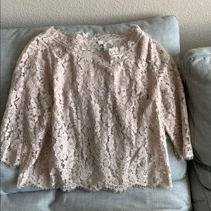 ++Joie 3/4 sleeve lace blouse++